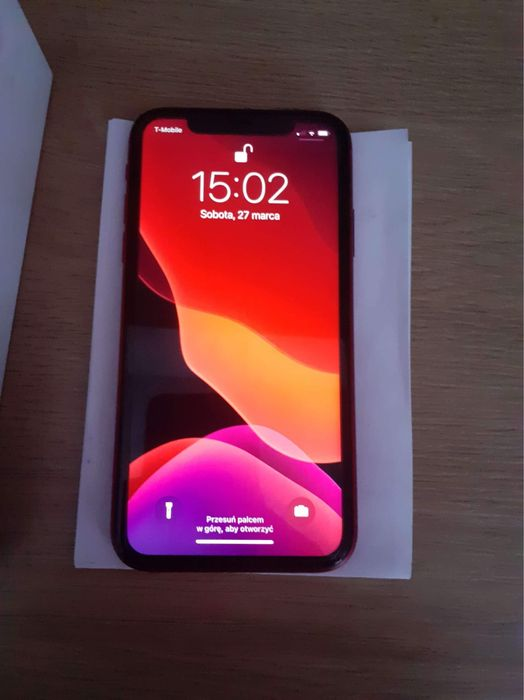 iPhone 11 64GB 100% RED Lublin - image 1