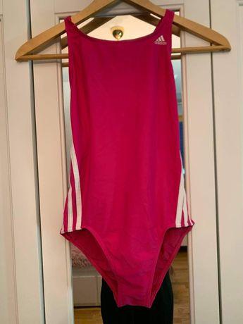 Strój kąpielowy różowy Adidas S 164 cm