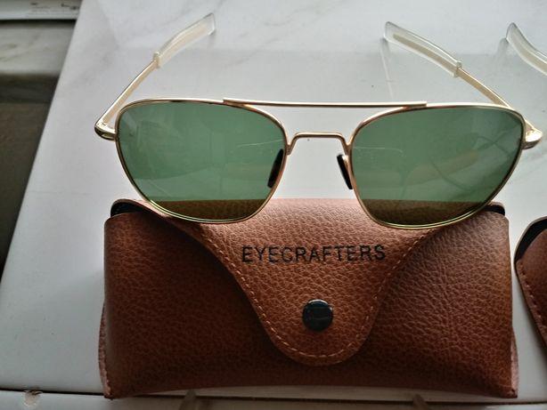 Ocúlos de sol Eyecrafters. €30. Lentes polarizadas, várias cores.