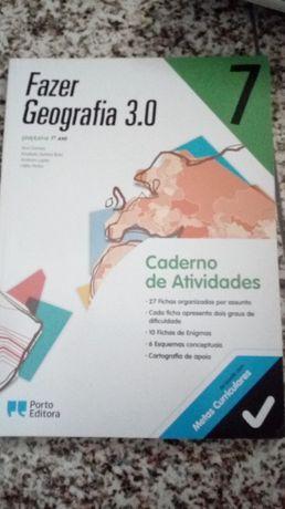 Livro de fichas de geografia 7