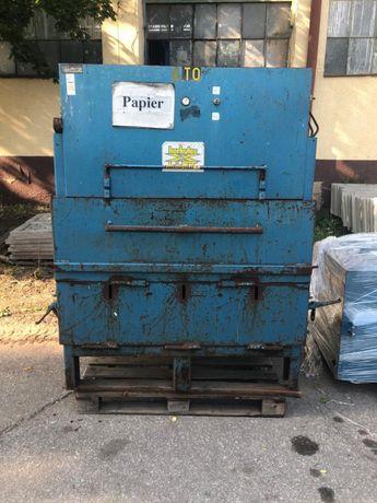 Belownica prasa do makulatury kartonu folii śmieci odpadów papieru