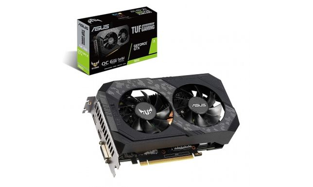 Placa Gráfica Nova Asus GeForce GTX 1650 TUF Gaming OC Gddr6 4GB