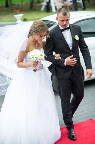 Suknia ślubna princessa klasyczna