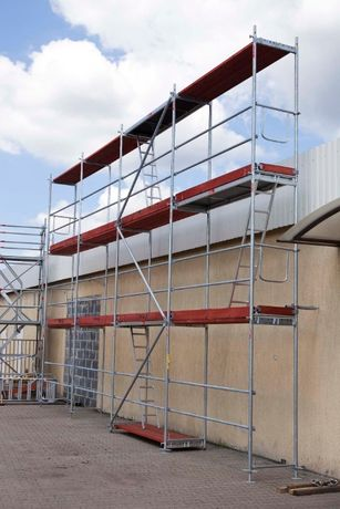 Rusztowanie fasadowe elewacyjne typ PLETTAC 120m2 ZESTAW Raty Leasing