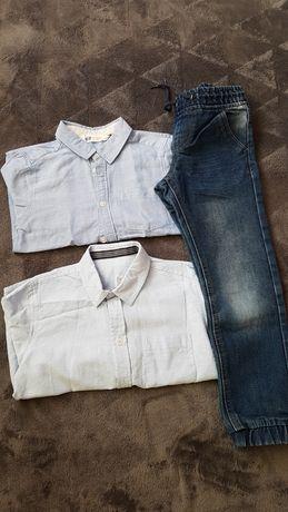 Koszule i spodnie rozmiar 116