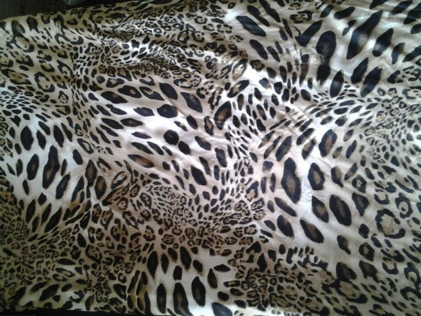 Трикотаж - леопардовый принт