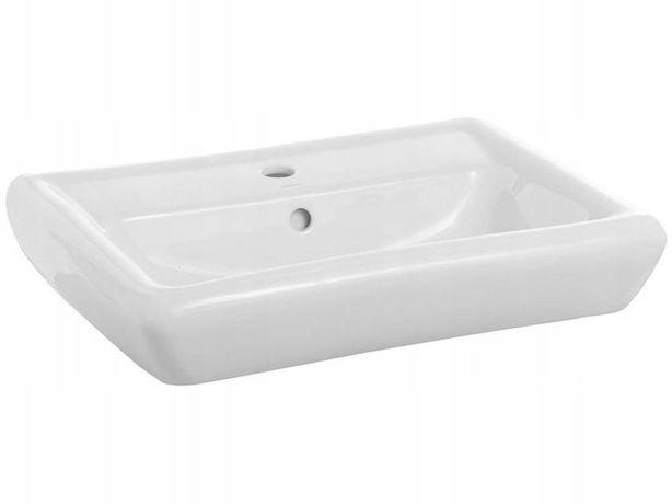 Umywalka Cersanit iryda 50 nablatowa zlew łazienkowy