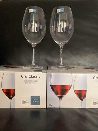 10 Copos Schott Zwiesel Tritan - Vinho Tinto - Cru Classic - Novo