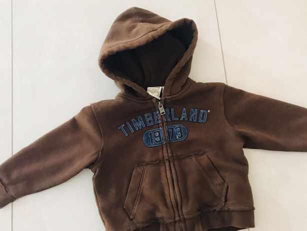 Bluza ocieplana Timberland 2 lata