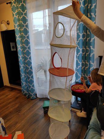 Półka wisząca Ikea na zabawki