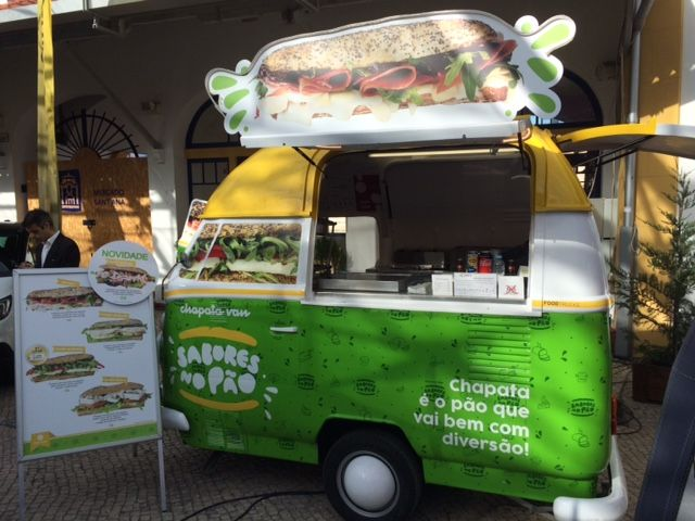 conceito de street food Leiria, Pousos, Barreira E Cortes - imagem 1
