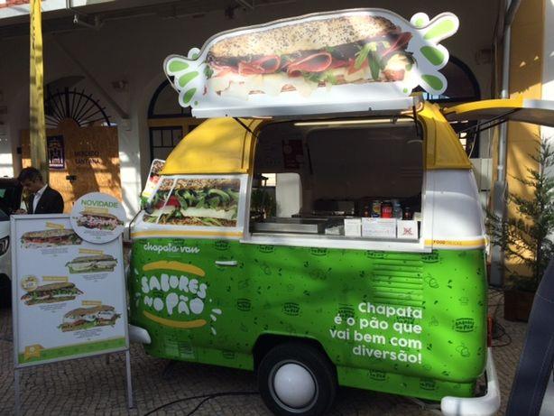 conceito de street food