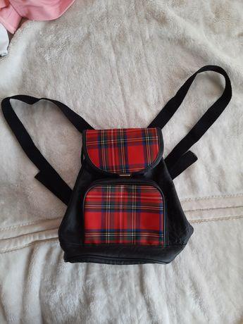 plecaczek vintage torebka