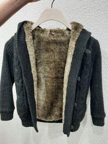 Sweter kożuszek futerko