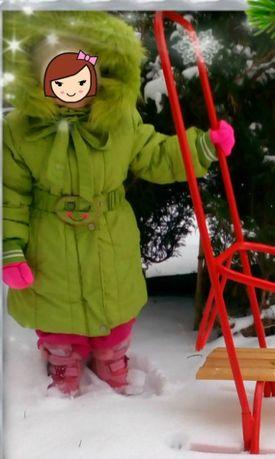 Зимняя куртка + шапочка