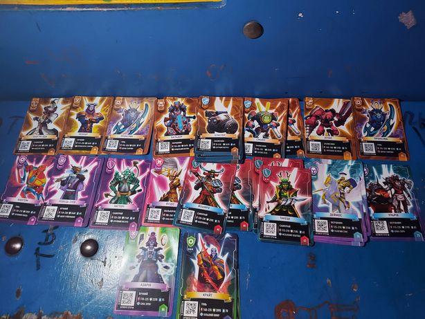 Карточки из магазина атб