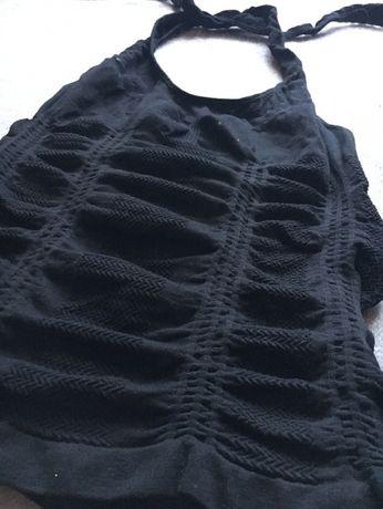 Bluzka wiązana na szyi, Tally Weijl XS/34 czarna