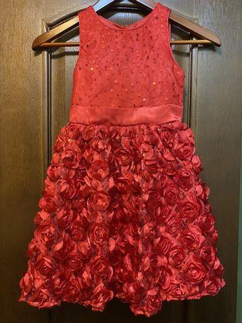 Безумно красивое платье Смик Smyk 116