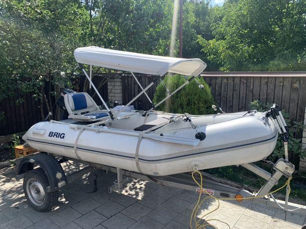 Лодка brig 330+мотор