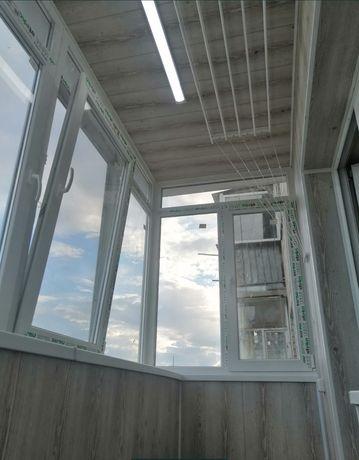 Окна+откосы.Балконы под ключ, Расширение балконов, Французкие балконы