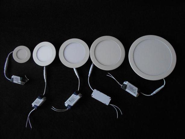 Panele Podtynkowe LED SLIM 24W 18W 12W 9W 6W 3W neutralne zimne ciepłe