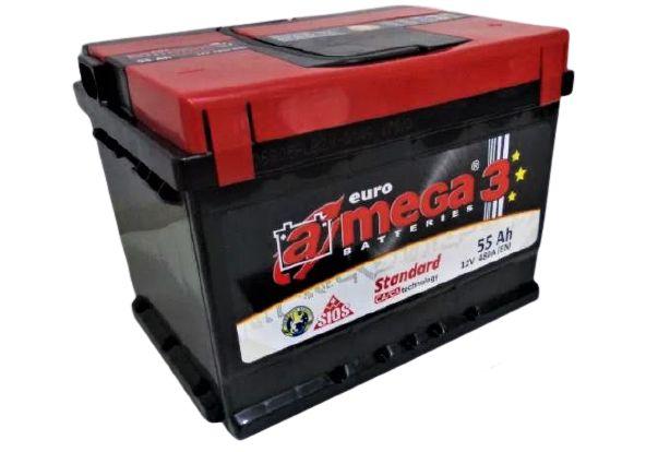 Akumulator AMEGA 3 Standard 55Ah 480A