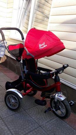 Детский трёхколёсный велосипед для девочки или мальчика