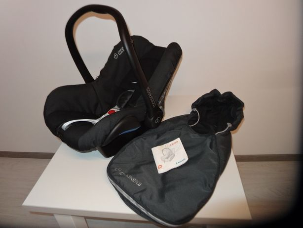 Nosidełko fotelik samochodowy Maxi Cosi City SPS 0-13 kg + Śpiworek