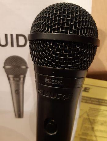 mikrofon shure pga 58