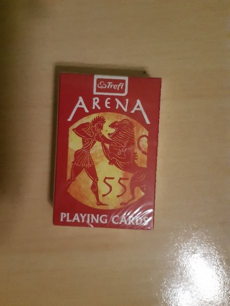 Karty Trefl Arena 55 sztuk