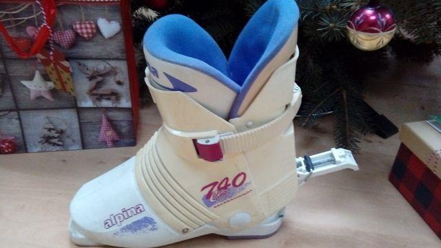 buty narciarskie zjazdowe Alpina 38 1/2 damskie