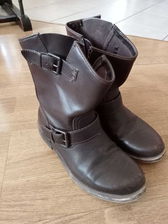 Buty botki kozaki za kostkę ROXY 39