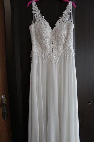 Sukienka biała rozmiar 38