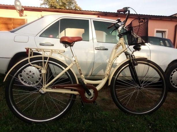 Modny rower damski,3 biegi,koła 28 cali,alu rama