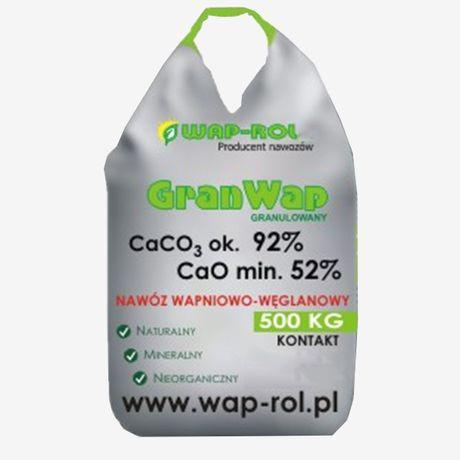 Wapno nawozowe GRANWAP 500kg sklepborowiec.pl