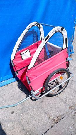 Przyczepka rowerowa dla dzieci 1 do 2 osób