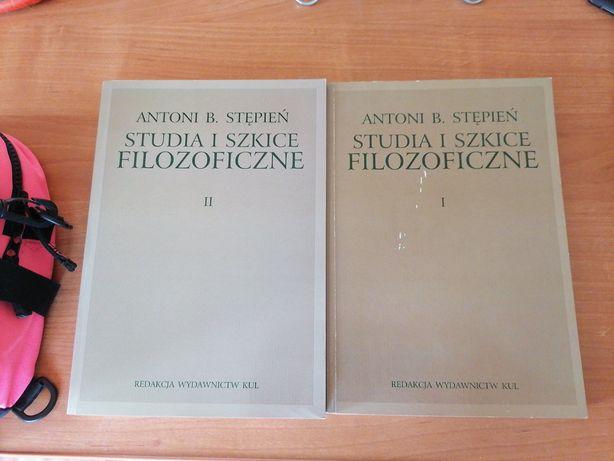 Antoni B. Stępień Studia i szkice Filozoficzne