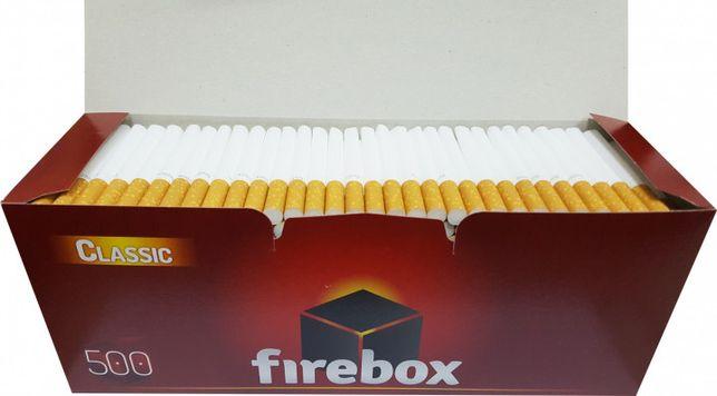 сигаретные гильзы firebox 500 шт гильзы для сигарет гільзи для cигарет