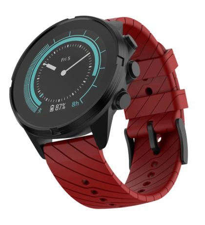 Pasek do Suunto 7 / 9 / 9 BARO / Spartan Wrist RED