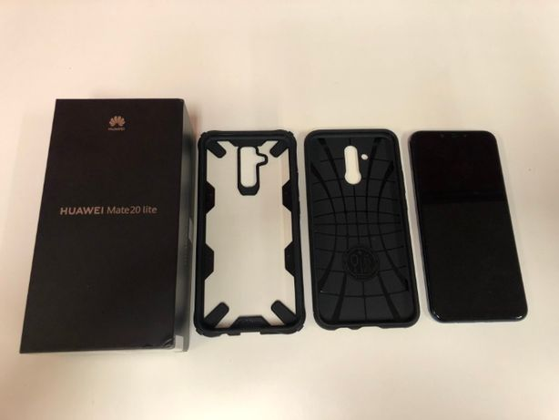 Huawei Mate 20 Lite Blue szkło 3MK 2-etui gwarancja do 2021.09