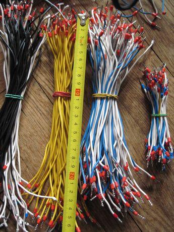 Провода медные для электрошкафа с оконцовками