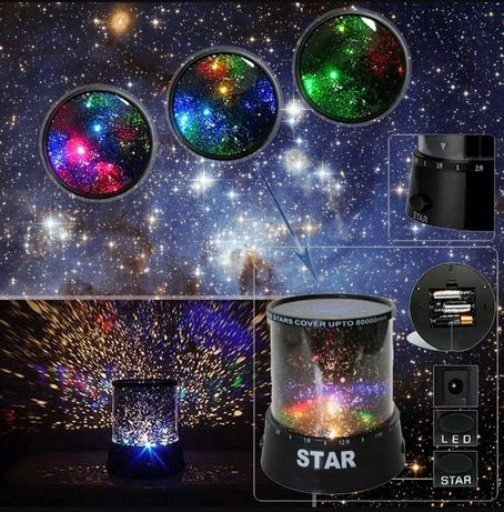Проектор звездного неба 200р