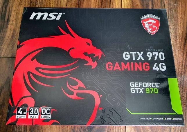 Karta graficzna MSI GeForce GTX 970 GAMING OC 4GB