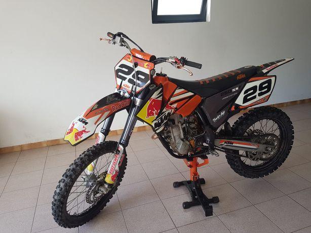 Moto Ktm sx250 4 tempos