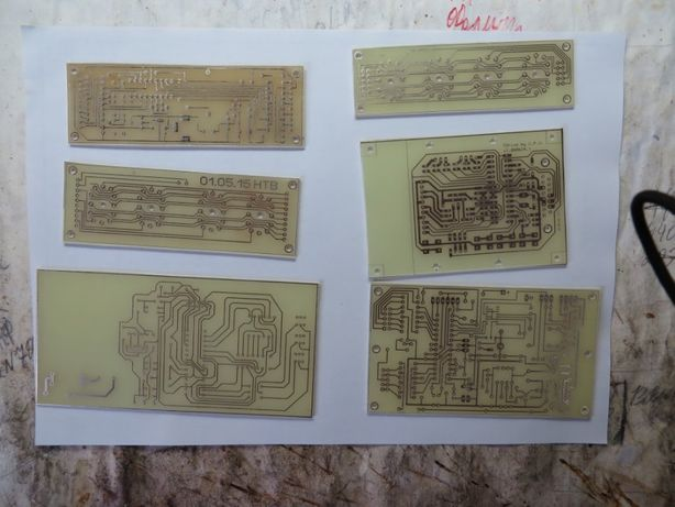 Изготовление печатных плат, фотоспособ, единичное и мелкосерийное