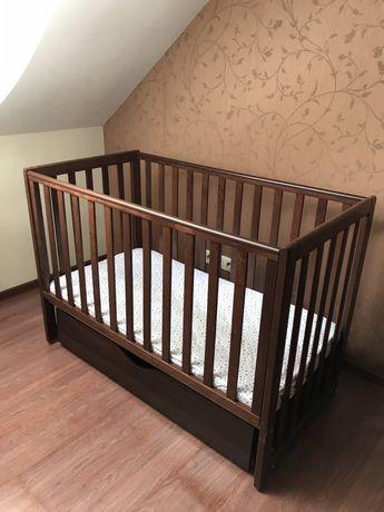 Детская кроватка верес соня лд13 орех маятник с ящиком