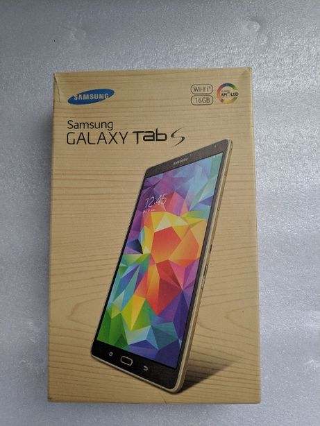 "Tablet Samsung Galaxy Tab S SM-T700 8.4"" Wi-FI Titanium Gray"
