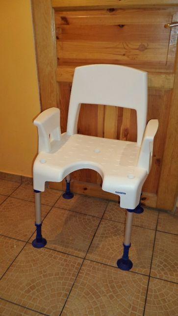 Taboret krzesło pod prysznic rozkładane Aquatec 160 kg