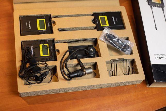 Saramonic UwMic9 (RX9+TX9+TX9) - zestaw bezprzewodowy