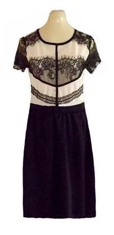 sukienka + koronkowe wstawki Evita 40